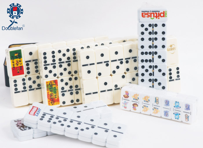 Hot Transfer Print Dominoes